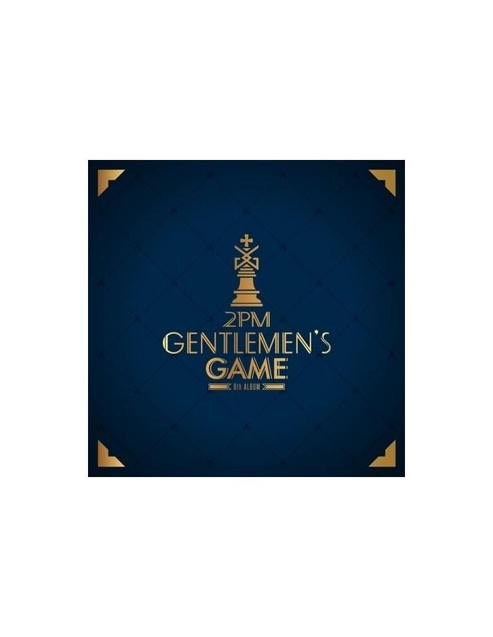 2PM 6th Album - GENTLEMEN'S GAME CD + Poster