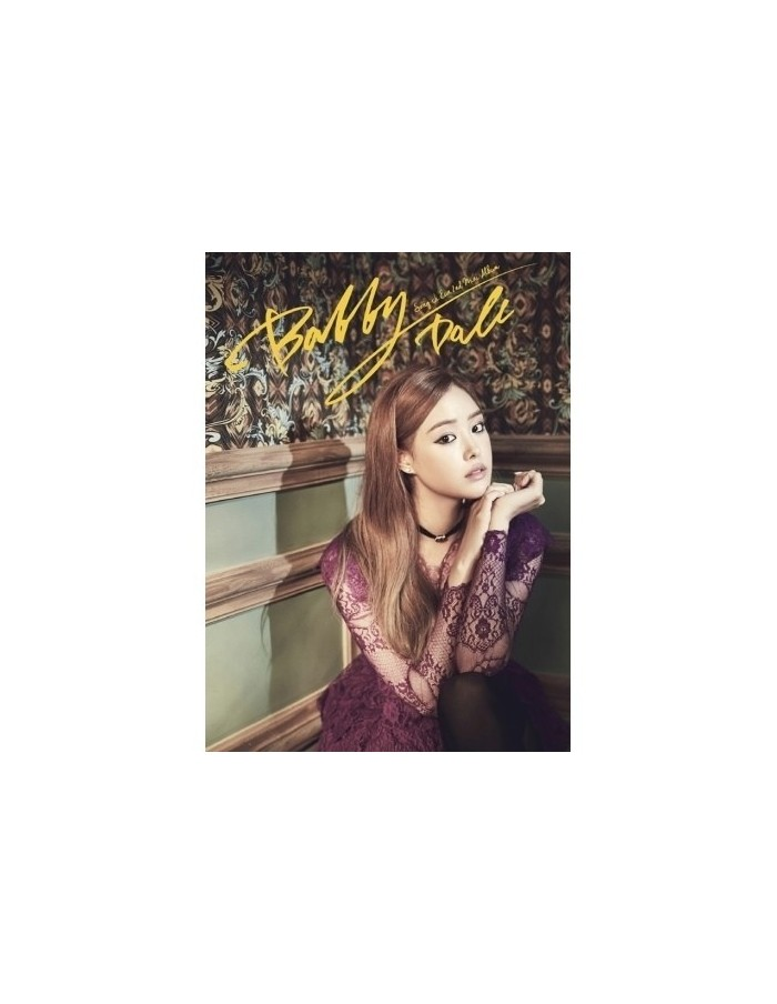 SONGJIEUN 2nd Mini Album - BOBBY DOLL CD + Poster