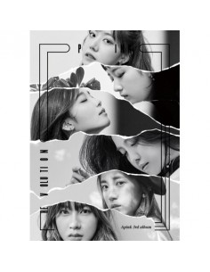APINK A PINK 3rd Album - Pink Revolution CD + POSTER