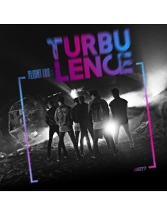 GOT7 2nd Album FLIGHT LOG : TURBULENCE CD + Poster