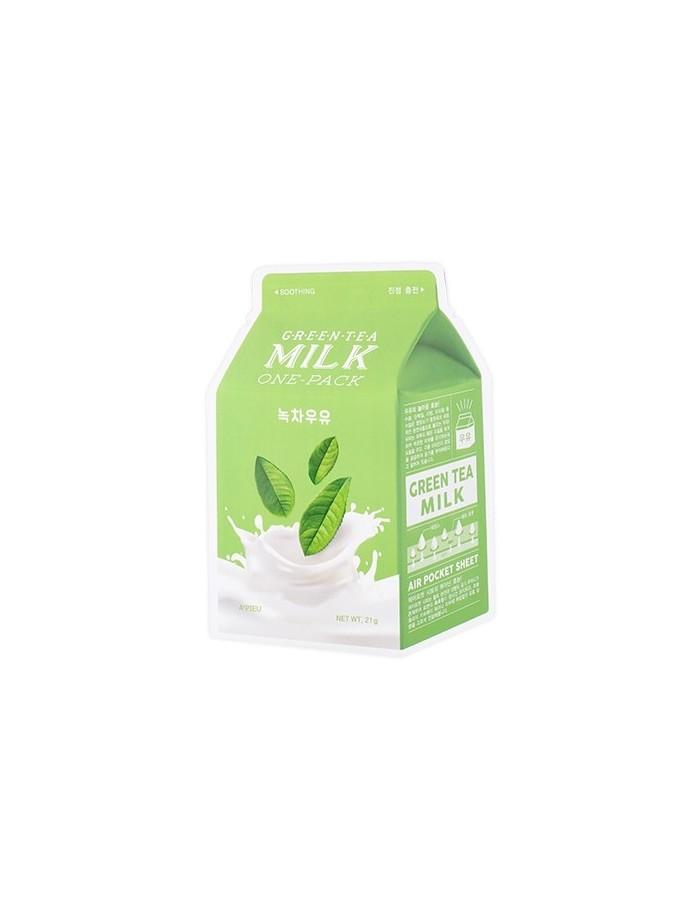 [A'PIEU] Milk One-Pack Mask Sheet (6Kinds)