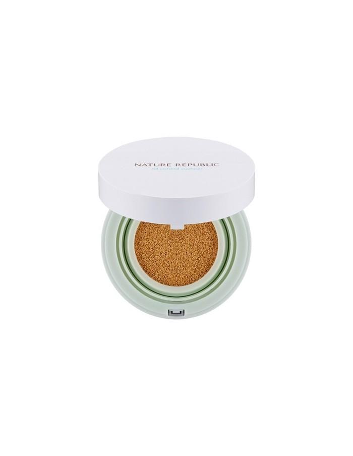 [ Nature Republic ] Provence Air Skin Fit Oil Control Cushion SPF50+ PA+++