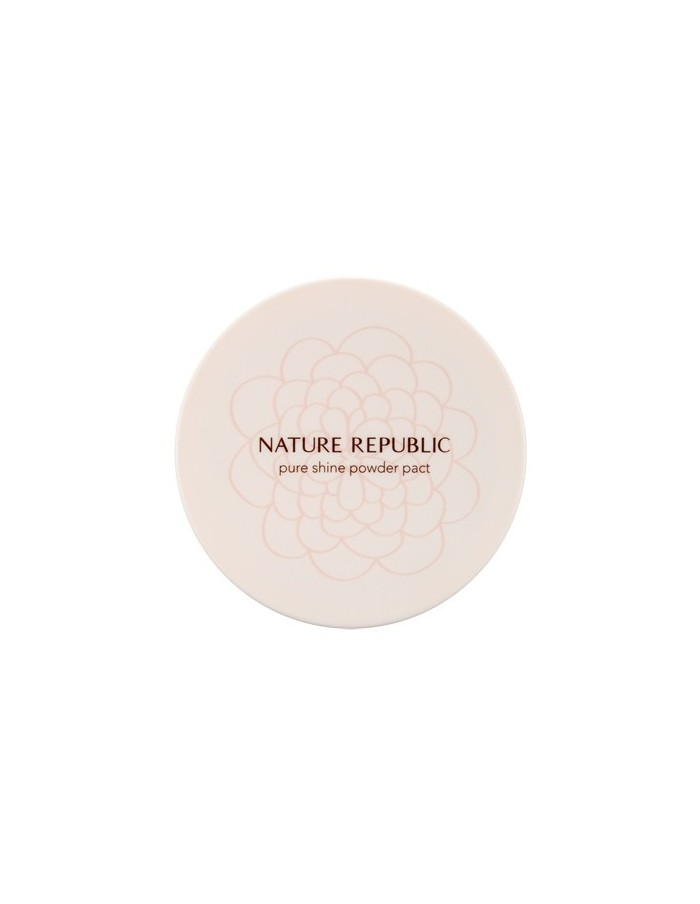 [ Nature Republic ] Pure Shine Powder Pact
