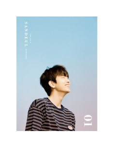 B1A4 SANDEUL 1st Mini Album - 그렇게 있어줘 CD + Poster