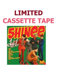 [Limited Version] SHINEE 5th Album vol 5 - 1 of 1 Cassette Tape