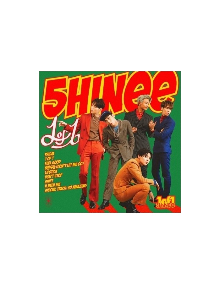 SHINEE 5th Album - 1 of 1 CD + Poster