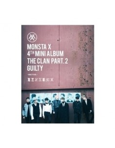MONSTA X 4th Mini Album - THE CLAN 2.5 PART.2 GUILTY CD + Poster (GUILTY VER)