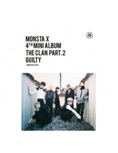 MONSTA X 4th Mini Album - THE CLAN 2.5 PART.2 GUILTY CD + Poster (INNOCENT Ver.)
