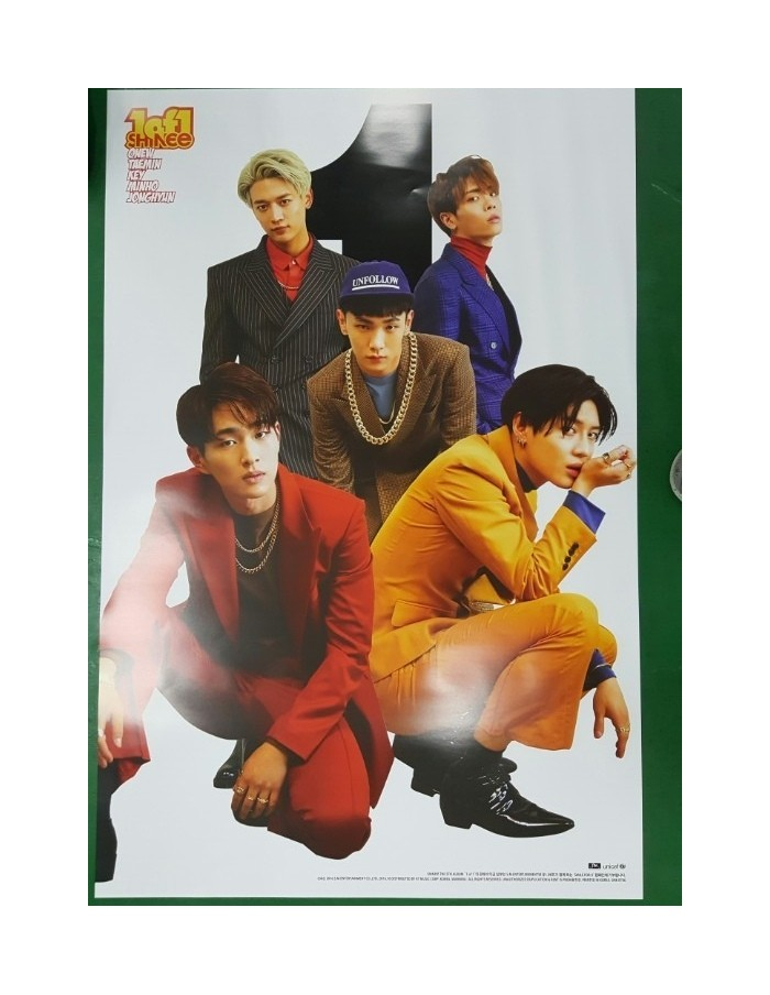 [Poster] Official Poster from - Limited Version - SHINEE 5th Album vol 5