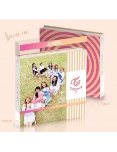 TWICE 3rd Mini Album - COASTER CD + Poster [Apricot ver] - Special Pre-Order Gifts