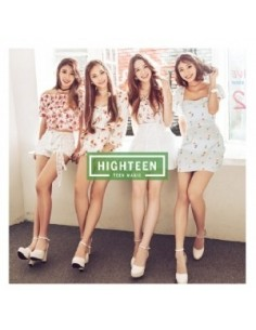 HIGHTEEN 1st Mini Album - TEEN MAGIC CD + Poster