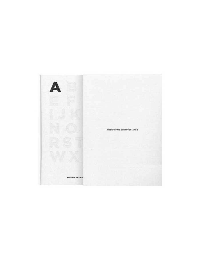 BIGBANG10 THE COLLECTION: A TO Z (Photobook + Ecobag + Card)