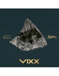 VIXX 3rd Mini Album - KRATOS CD + Random Poster