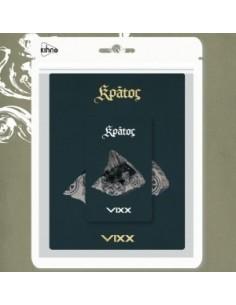 VIXX 3rd Mini Album - KRATOS Khino Smart Music Album + Random Poster