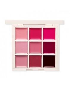 [ETUDE HOUSE] personal color pallete warm tone lip 1gx9