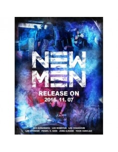 BTOB 9th Mini Album - NEW MEN CD + Poster