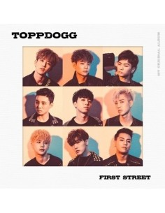 ToppDogg 1st Album - First Street CD + Poster