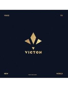 VICTON 1st Mini Album - VOICE TO NEW WORLD CD + Poster