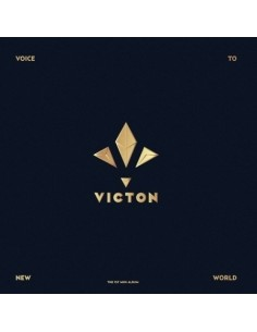 VICTON 1st Mini Album - VOICE TO NEW WORLD CD + Poster