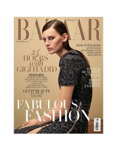 Magazine BAZAAR KOREA 2016-11