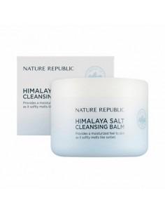 [Nature Republic] Himalaya Salt Cleansing Balm - White Salt 90ml