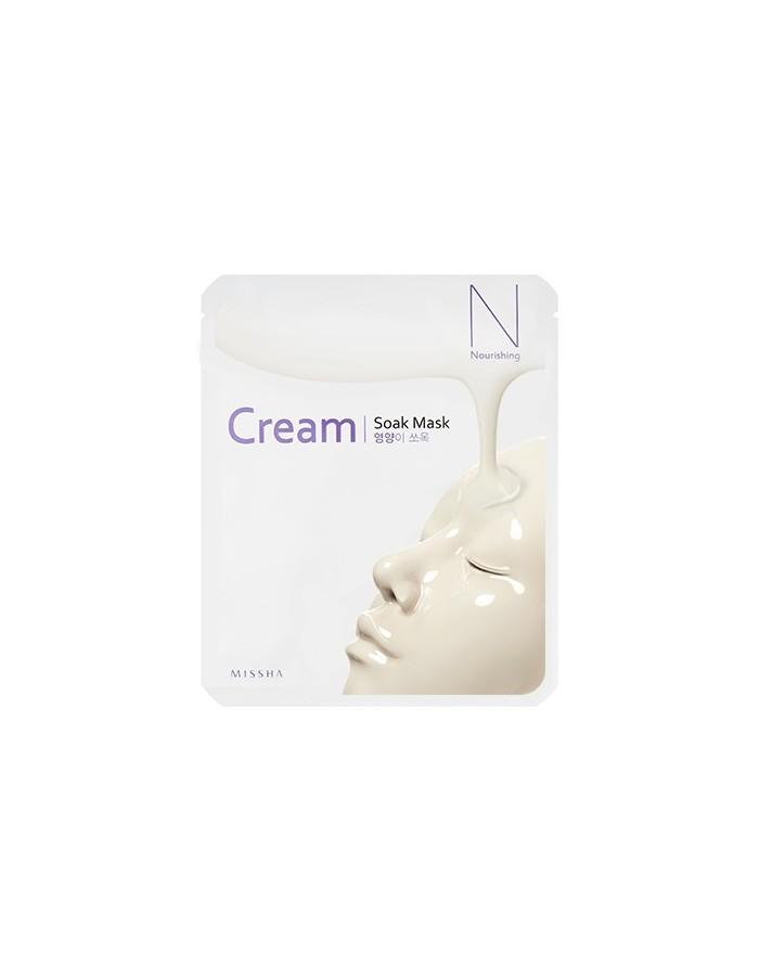 [MISSHA] Cream Soak Mask (Nourishing) 23g