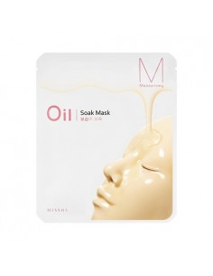 [MISSHA] Oil Soak Mask (Moisturizing) 23g