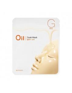 [MISSHA] Oil Soak Mask (Glow) 23g