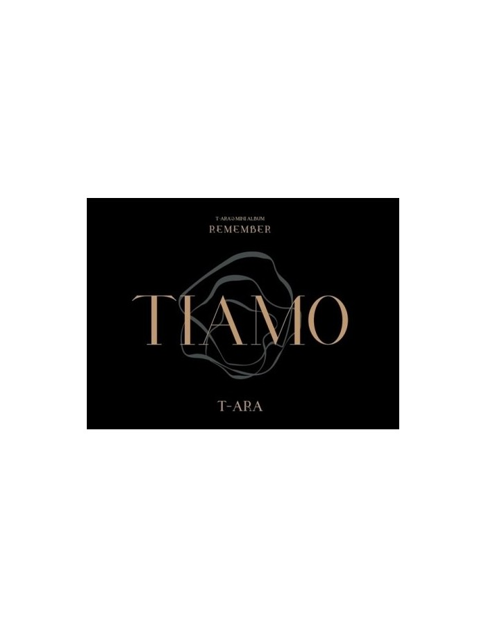 T-ARA 12th Mini Album - REMEMBER CD + Poster