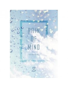 SNUPER 3rd Mini Album - RAIN OF MIND CD + Poster