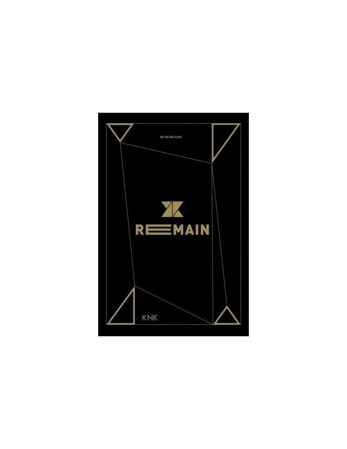 크나큰 KNK 2nd Mini Album - REMAIN CD + Poster