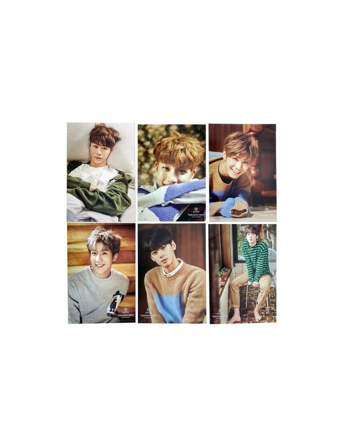 [6 Posters SET] Special Official Posters of Astro 3rd Mini AUTUMN STORY