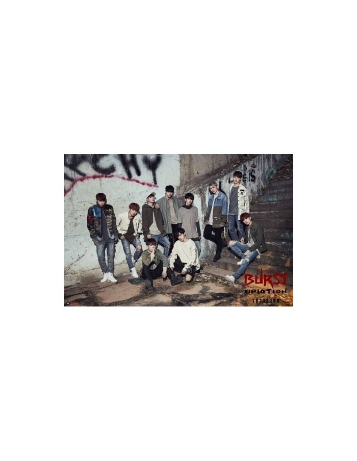 UP10TION 5th Mini Album - BURST CD + Poster