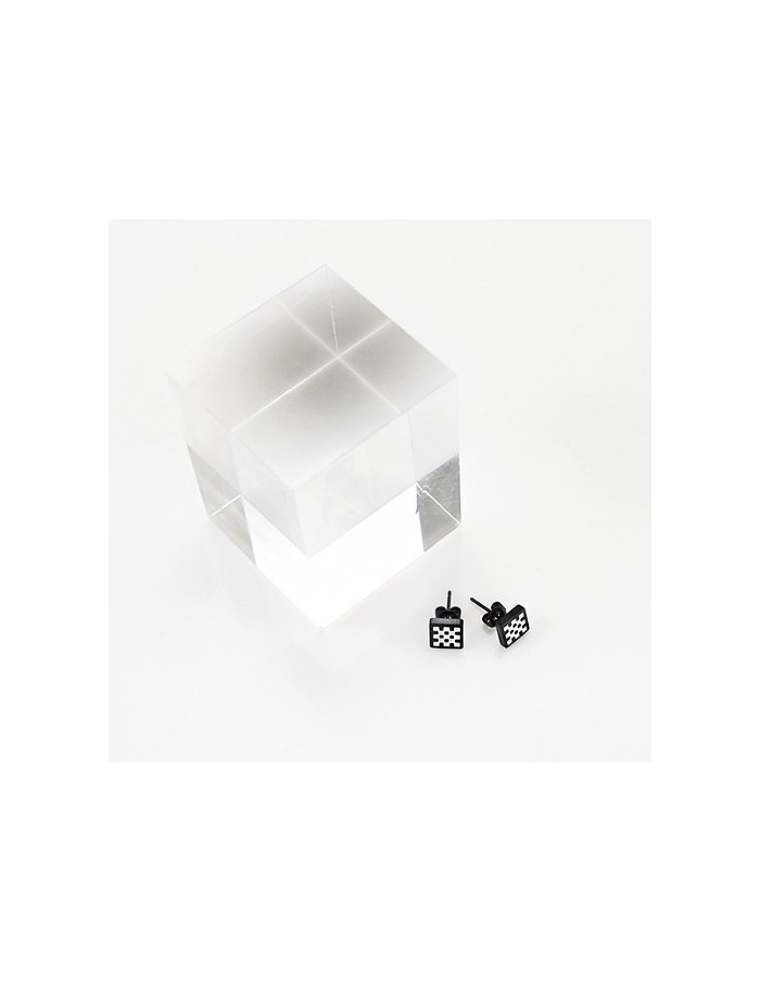 [VX02] VIXX Shinee Chessboard Piercing / Earring