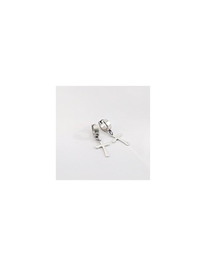 [SH98] SHINEE Style Simple Cross Earring