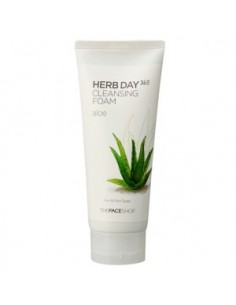 Thefaceshop Herb Day 365 Aloe Cleansing Foam