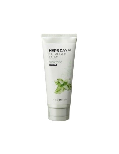 Thefaceshop Herb Day 365 Spearmint Cleansing Foam