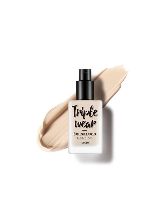 [A'PIEU] Triple Wear Foundation 35g (5Colors)