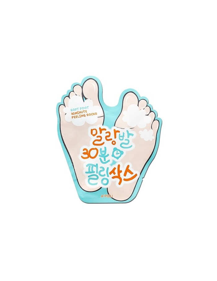 [A'PIEU] Soft Foot Peeling Socks 40ml