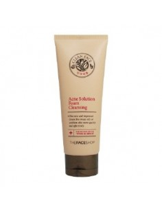 Thefaceshop Clean Face Acne Solution Foam Cleansing