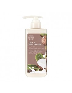 [Thefaceshop] Milk&Shea butter Body Oil Lotion 300ml