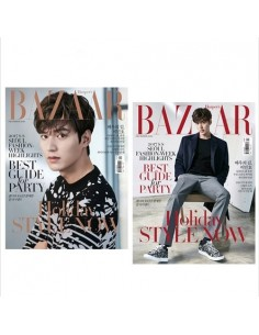 Magazine BAZAAR KOREA 2016-12 Lee Min Ho