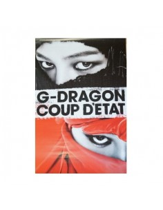 [Poster] G-DRAGON 2nd Album - COUP D'E TAT Poster