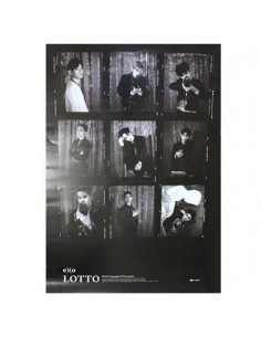 EXO 3rd Album Repackage LOTTO Poster (Chinese ver)