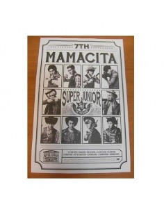 Super Junior 7th Album -Mamacita Poster