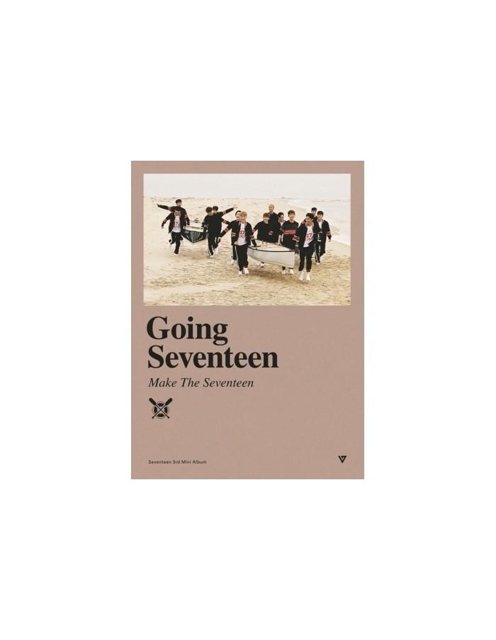 SEVENTEEN 3rd Mini Album - GOING SEVENTEEN + Poster (Ver. MAKE THE SEVENTEEN)