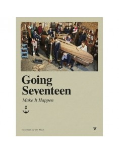SEVENTEEN 3rd Mini Album - GOING SEVENTEEN + 2Posters (Ver. MAKE IT HAPPEN)