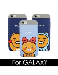 [ KAKAO FRIENDS ] KAKAO Cutie Card Double Bumper Case - For Galaxy