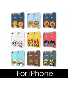 [ KAKAO FRIENDS ] KAKAO Bumper Slide Phone Case - For iPhone
