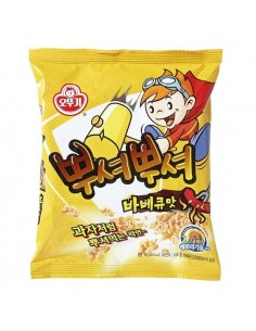 OTTOGI PPUSHU PPUSHU (Smash Noodle) - BBQ Flavor 90g